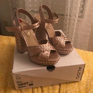 Aldo Muave studded heels